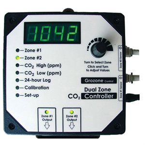 GROZONE CO2D 0-5000 PPM DUAL ZONE CO2 CONTROLLER (1)