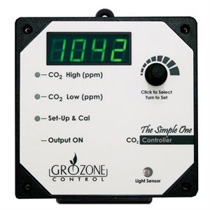 GROZONE SCO2 SINGLE OUTPUT 0-5000 PPM CO2 CONTROLLER (1)
