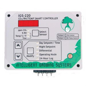 IGS-220 CO2 / RH OR TEMP SMART CONTROLLER (1)