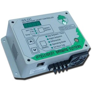 IGS-221 CO2 / RH / TEMP CONTROLLER (1)